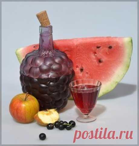 Домашнее вино из арбуза — интересный вкус, потрясающий аромат - Простые рецепты Овкусе.ру