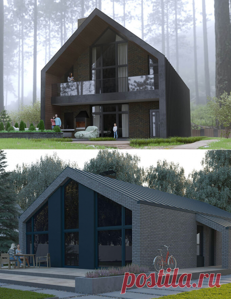 Дома по европейским проектам Smartbarn