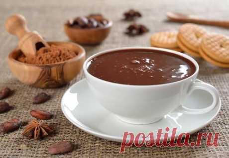 Рецепты горячего шоколада из какао порошка - на молоке, сметане, сливках