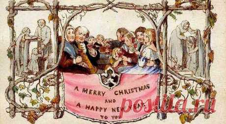 Новогодние и рождественские открытки прошлого века.   История новогодней открытки началась с появлением христианства, и традиции празднования Рождеств...