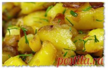 Никто и не догадается, что в жареной картошке не грибы | 1001 рецепт для стройности | Яндекс Дзен