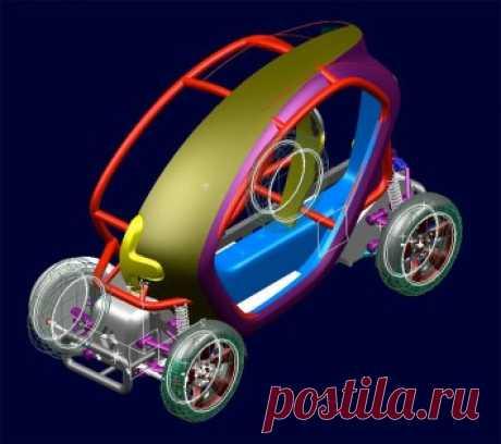 Эксклюзив: дизайн история Renault Twizy - Часть 2 - Car Design кузова