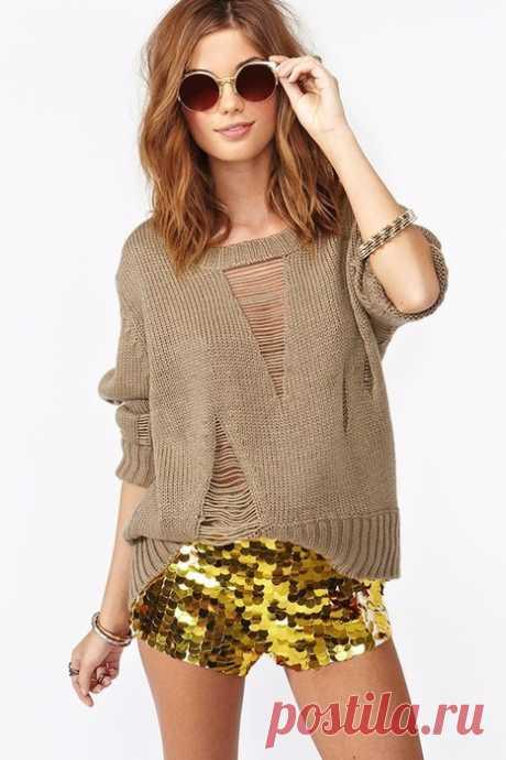 Идеи для вязания пуловеров спицами — HandMade