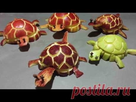 TURTLE FROM APPLE - YouTube