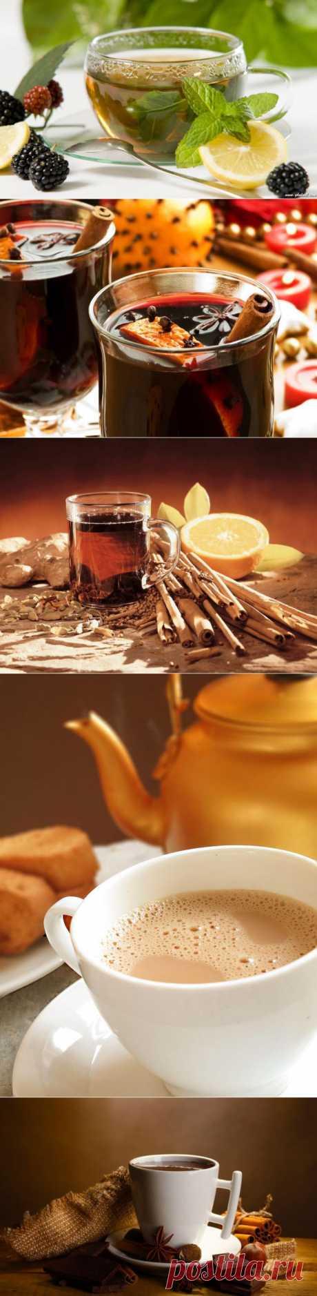 Как приготовить самые вкусные согревающие напитки : НОВОСТИ В ФОТОГРАФИЯХ