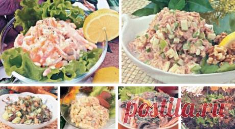 10 Невероятных рецептов Нежных салатов как В Ресторане