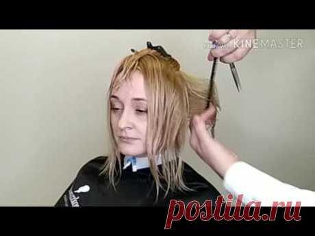 Видеоурок 9. Женская градуированная стрижка. Курс Познание формы