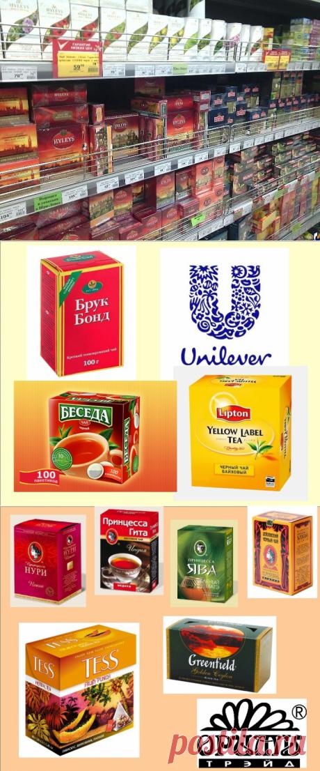 Производители и бренды чая: кто есть кто (19 фото)