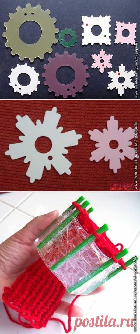 Самодельный тенериф для плетения узоров и вязания изделий.