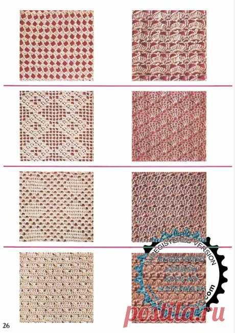 Crochet Colección de patrones. Discusión sobre LiveInternet - Servicio de diario en línea ruso