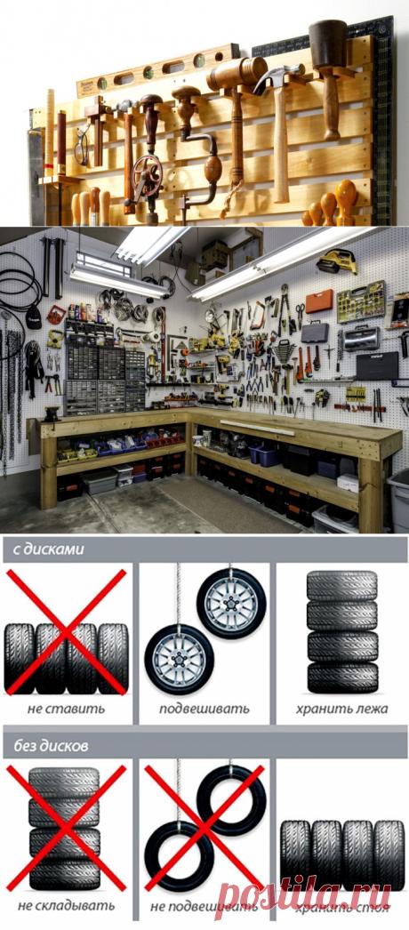 Мужику на заметку: 10 идей для идеального порядка в гараже - Квартира, дом, дача