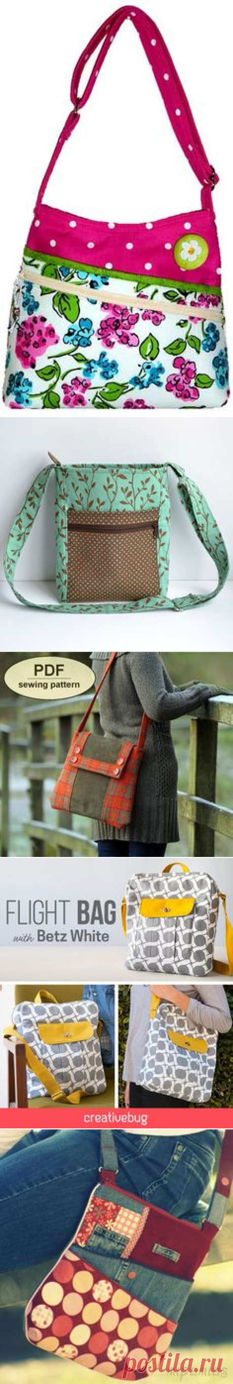 (74) Designer Hipster Cross Body Bag Pattern PDF for sewing your own Purse. Serendipity Hip by ChrisW Designs