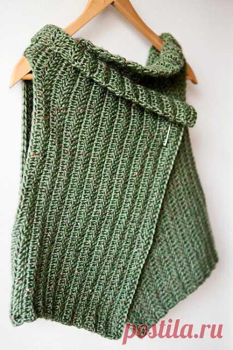 Простая в вязании безрукавка, но, насколько носибельна такая вещь? | Tvorlen | Яндекс Дзен