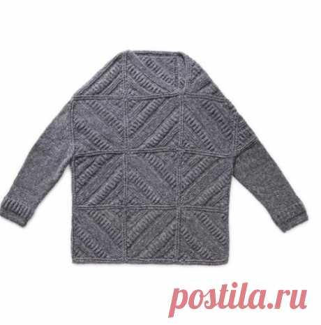 Подборка стильных пуловеров спицами: 16 проектов   Узоры и модели для вязания   Яндекс Дзен