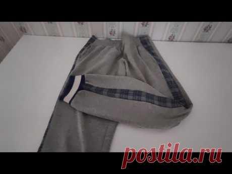 Как увеличить штаны, если они стали малы