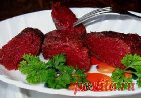 Beet cutlets. Recipe   Tasty food