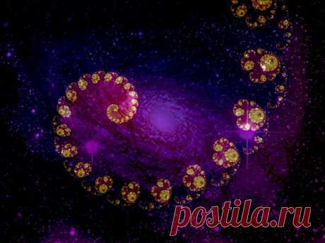 Fractal Galaxy Spiral  Free Stock Photo HD - Public Domain Pictures