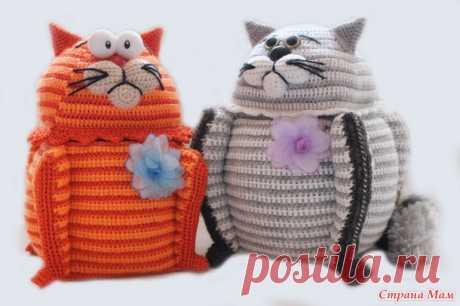 Забавный кот — шкатулка — Делаем руками