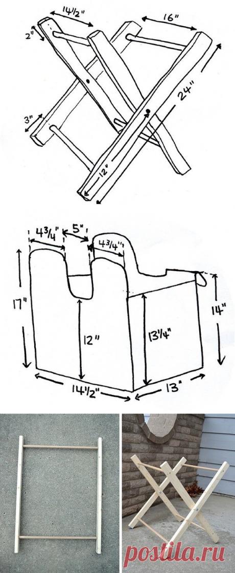 Cумка-раскладушка для рукоделия — Сделай сам, идеи для творчества - DIY Ideas