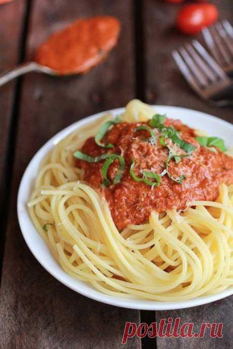 Соус для спагетти в мультиварке