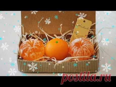 Новогоднее мыло МАНДАРИН 3D