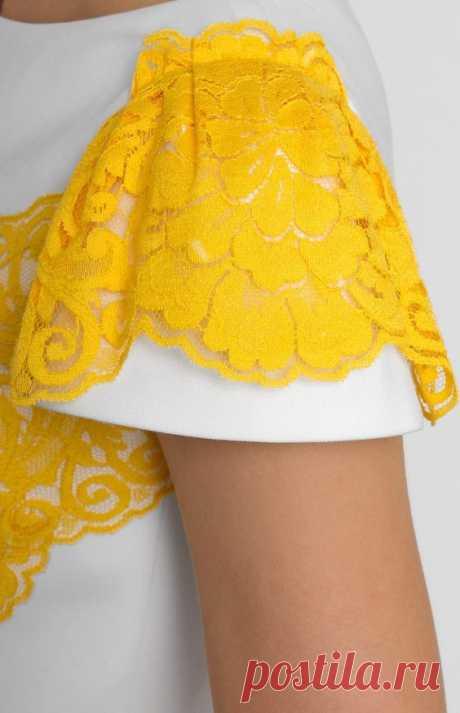 Кружевная отделка (подборка) Модная одежда и дизайн интерьера своими руками