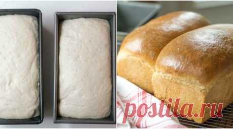 Рецепт домашнього хліба. Виходить смачніший та корисніший ніж магазинний.