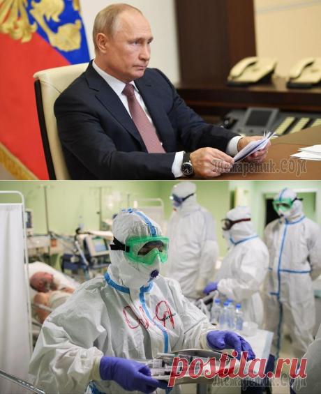 «Бюрократическая канитель»: Путин потребовал заплатить медикам