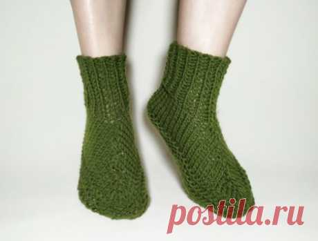 Вяжем теплые и мягкие носки для холодной зимы » «Хомяк55» - всё о вязании спицами и крючком