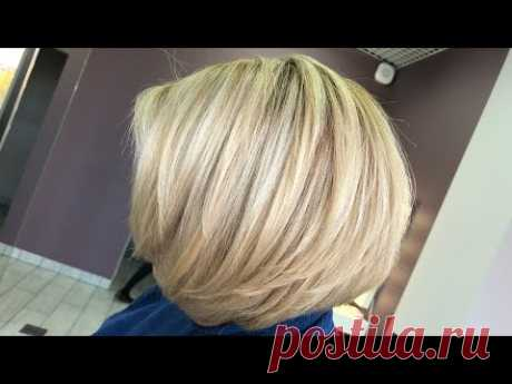 Как правильно работать супер блонд 12 рядами .