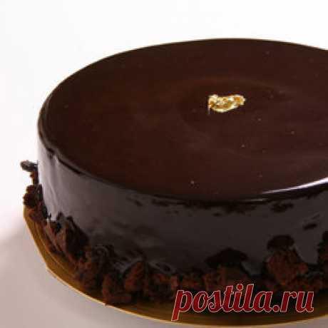 Шоколадный торт рецепт самый вкусный и шоколадный! |