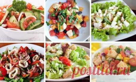Фитнес-салаты: ТОП-8 Полезных салатиков БЕЗ вреда для Фигуры