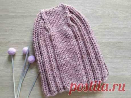Стильно и тепло. Вяжем шапку спицами для осени и зимы » «Хомяк55» - всё о вязании спицами и крючком