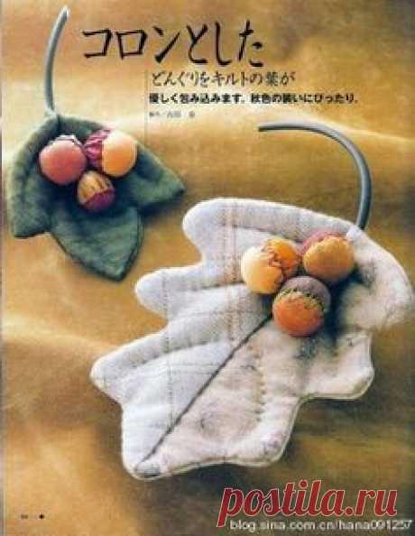 Текстильные броши