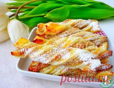 Немецкие ореховые слойки – кулинарный рецепт