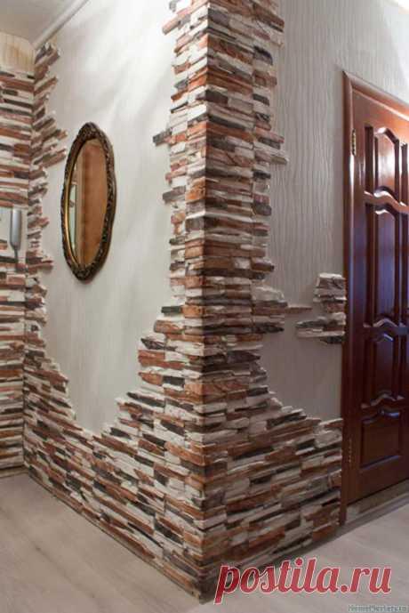 Декоративный камень в интерьере - Советы на каждый день