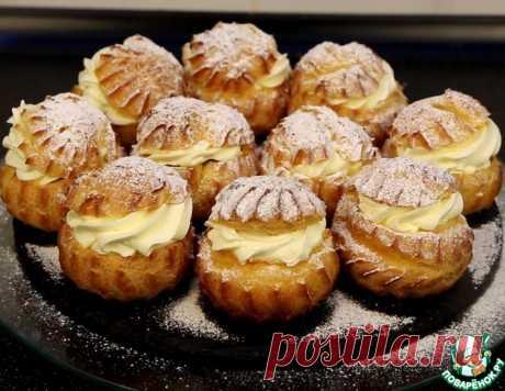 Заварные пирожные с кремом – кулинарный рецепт