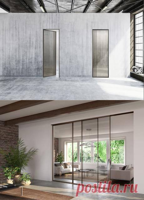 Новинка Barausse – стеклянные двери Tip