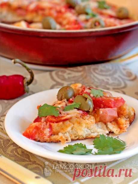Пицца на кефире на сковороде — рецепт с фото пошагово. Как приготовить быструю пиццу на кефире на сковороде?