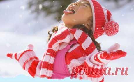 Как отучить ребенка есть снег?