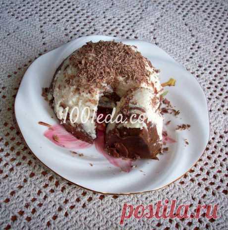 Творожно-шоколадный десерт с желатином - Быстрые десерты от 1001 ЕДА вкусные рецепты с фото!