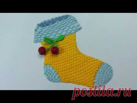 3Д Вышивка    Шов Ardenza  3D Embroidery : Ardenza stitch   