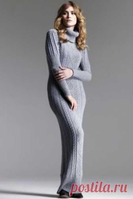 ТРИКО и КРОШЕТ-Мадона-Мия: Vestidos en tricot- Modelos
