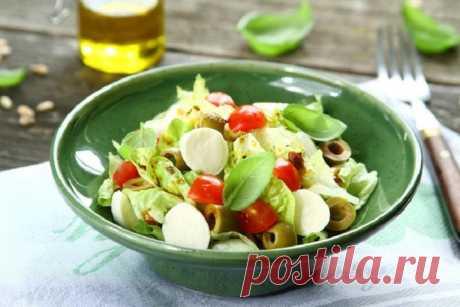 Простой и вкусный фитнес салат – пошаговый рецепт с фото.