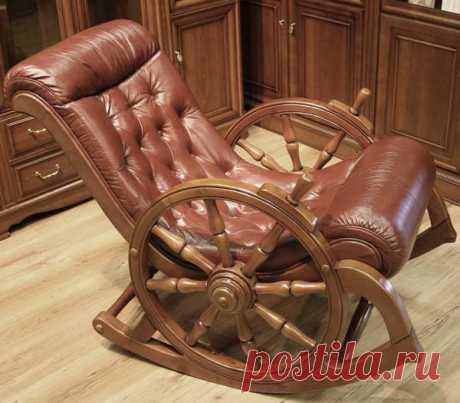 Что можно сделать из старого кресла для дома - фото