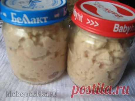Мясное пюре из кролика (для детского питания) в мультиварке и на плите - рецепт с фото на Хлебопечка.ру