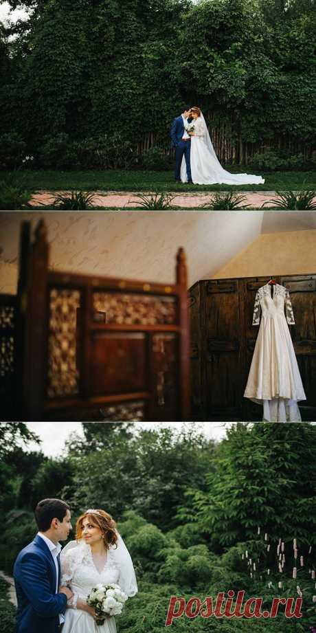 Благородный изумруд: свадьба Лауры и Михаила - WeddyWood