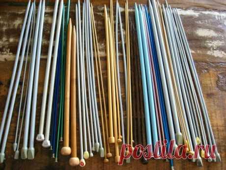 Вязание на спицах для начинающих. Урок №0 Обзор инструментов | Молния: мастерская Xev | Яндекс Дзен