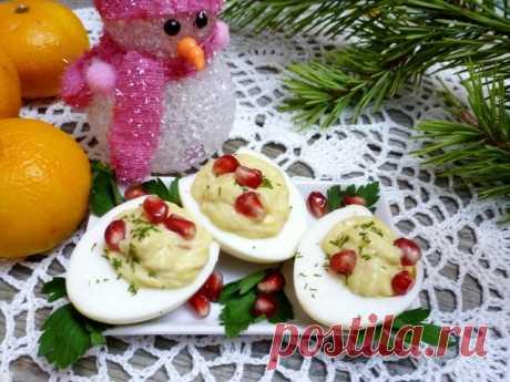 Яйца, фаршированные кукурузным паштетом – пошаговый рецепт с фотографиями