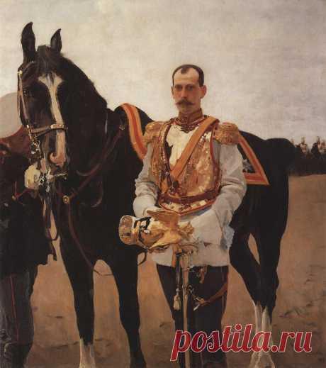 Портрет великого князя Павла Александровича. 1897       Валентин Александрович Серов (1865-1911). Часть 1: vakin